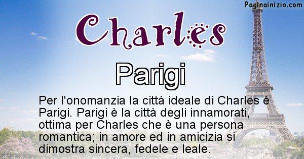 Charles - Città ideale per Charles