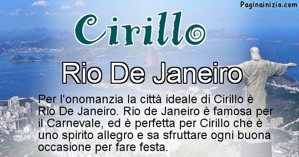 Cirillo - Città ideale per Cirillo