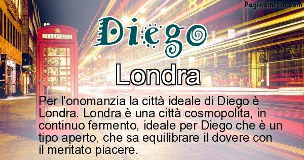 Diego - Città ideale per Diego