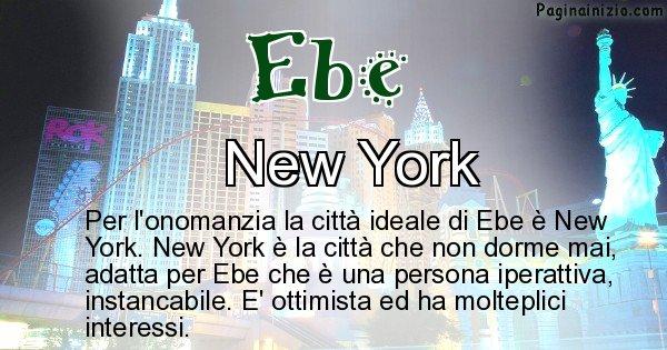 Ebe - Città ideale per Ebe