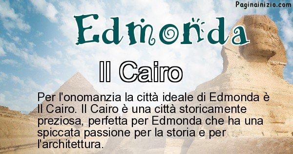 Edmonda - Città ideale per Edmonda