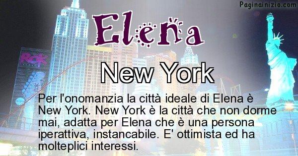 Elena - Città ideale per Elena