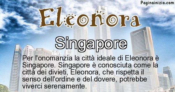 Eleonora - Città ideale per Eleonora