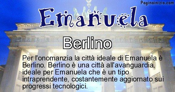 Emanuela - Città ideale per Emanuela