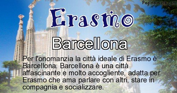 Erasmo - Città ideale per Erasmo