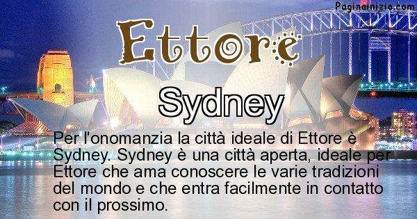 Ettore - Città ideale per Ettore