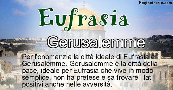 Eufrasia - Città ideale per Eufrasia