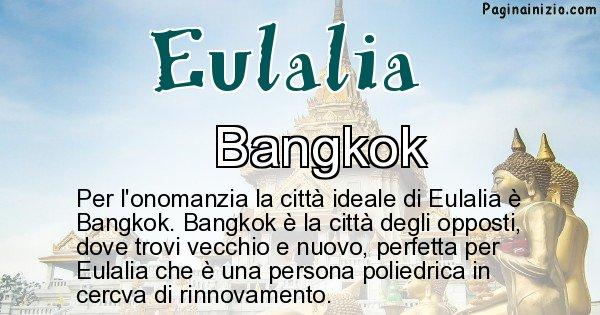 Eulalia - Città ideale per Eulalia
