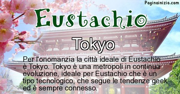 Eustachio - Città ideale per Eustachio