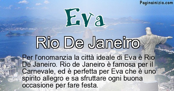 Eva - Città ideale per Eva