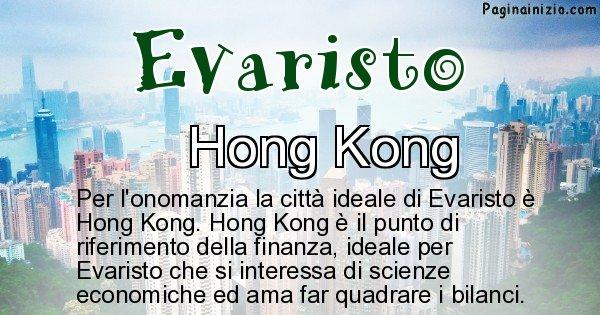 Evaristo - Città ideale per Evaristo