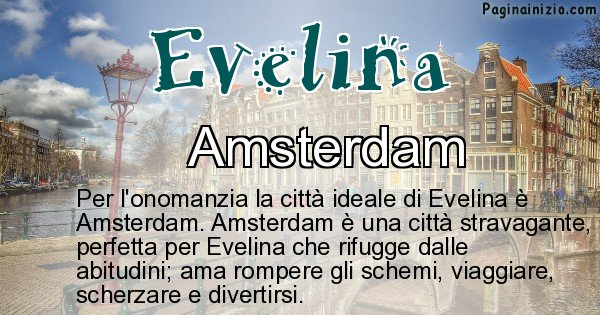 Evelina - Città ideale per Evelina