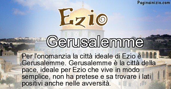 Ezio - Città ideale per Ezio