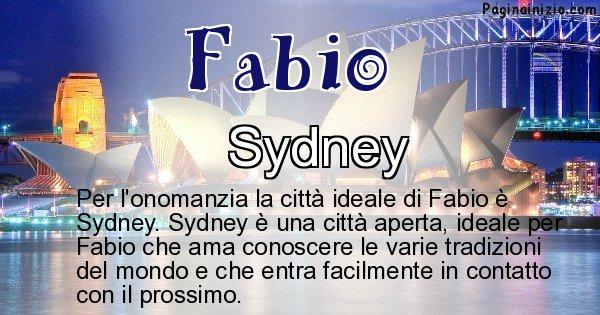 Fabio - Città ideale per Fabio