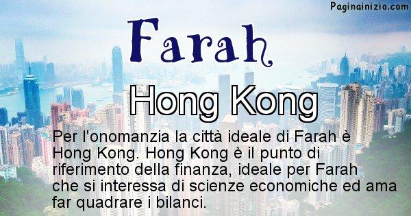 Farah - Città ideale per Farah