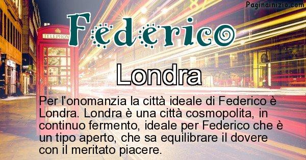 Federico - Città ideale per Federico