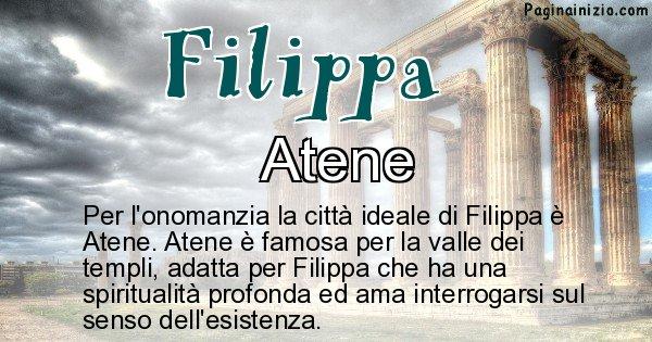 Filippa - Città ideale per Filippa
