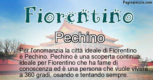 Fiorentino - Città ideale per Fiorentino