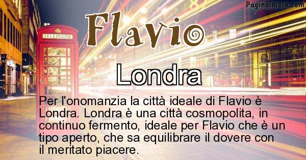Flavio - Città ideale per Flavio