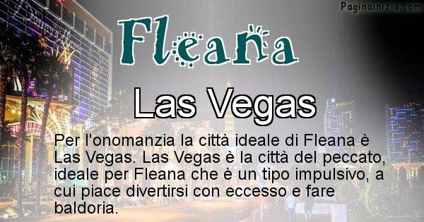 Fleana - Città ideale per Fleana