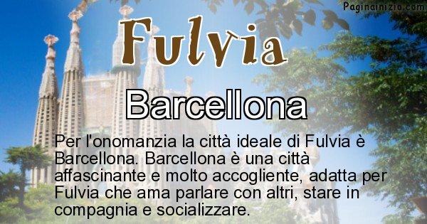 Fulvia - Città ideale per Fulvia