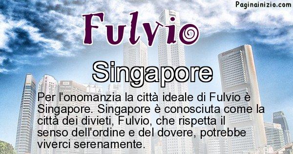 Fulvio - Città ideale per Fulvio