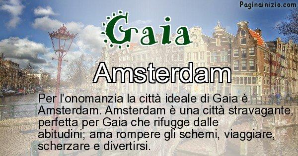 Gaia - Città ideale per Gaia