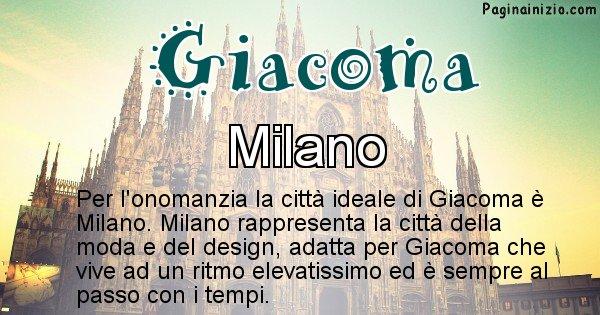 Giacoma - Città ideale per Giacoma