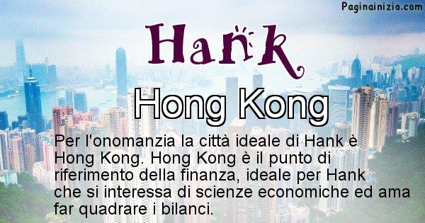 Hank - Città ideale per Hank