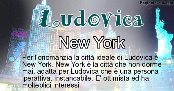 Ludovica - Città ideale per Ludovica