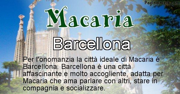 Macaria - Città ideale per Macaria