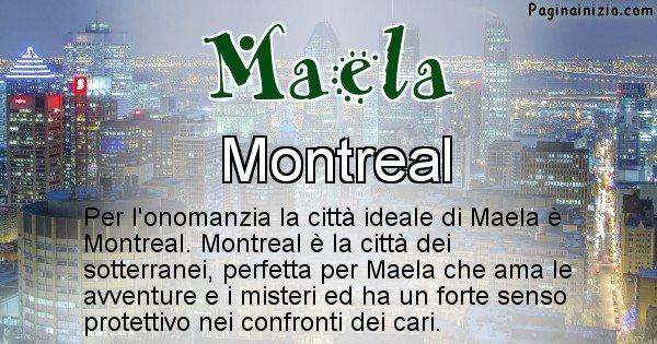 Maela - Città ideale per Maela