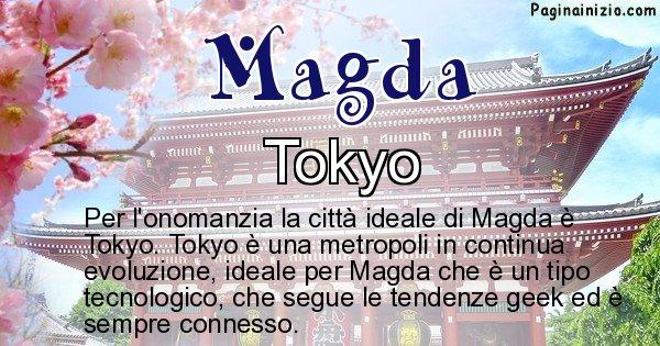 Magda - Città ideale per Magda