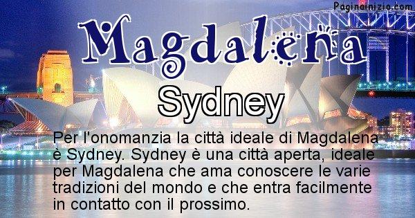 Magdalena - Città ideale per Magdalena