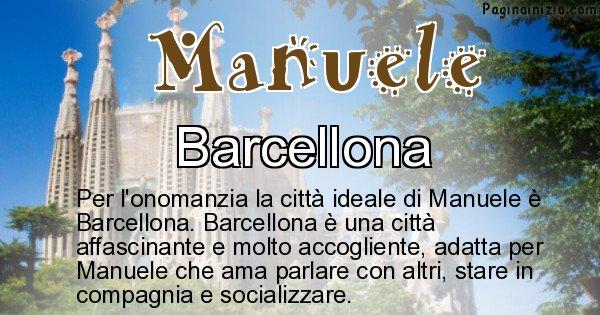 Manuele - Città ideale per Manuele