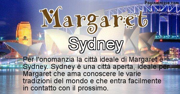 Margaret - Città ideale per Margaret