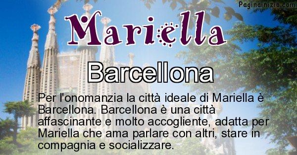 Mariella - Città ideale per Mariella