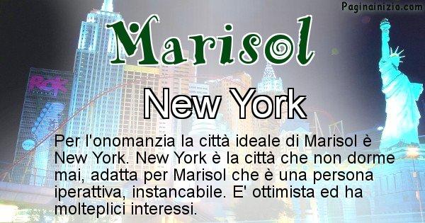 Marisol - Città ideale per Marisol
