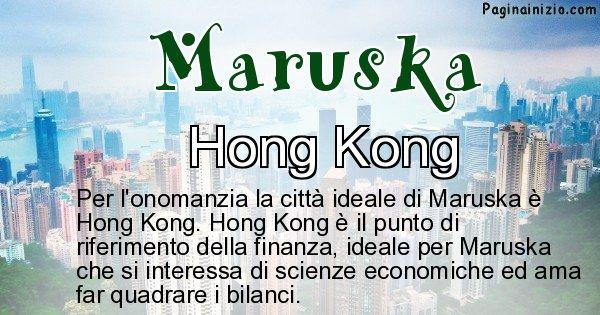Maruska - Città ideale per Maruska