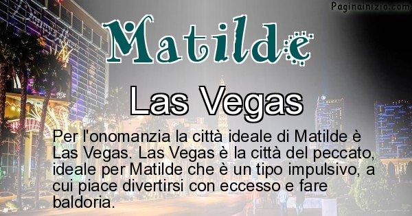 Matilde - Città ideale per Matilde