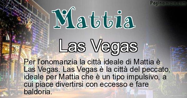 Mattia - Città ideale per Mattia