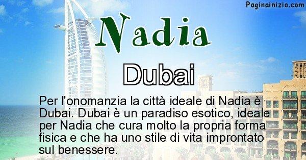 Nadia - Città ideale per Nadia