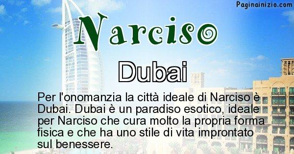 Narciso - Città ideale per Narciso