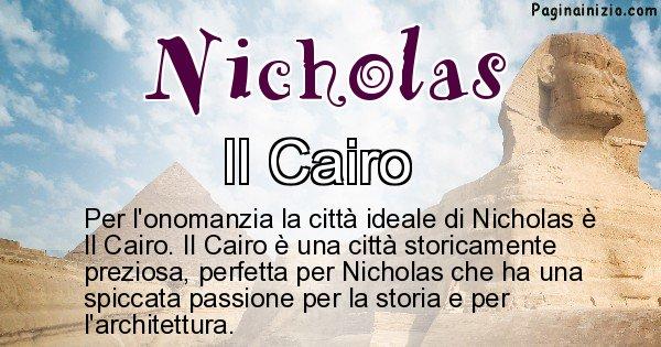 Nicholas - Città ideale per Nicholas