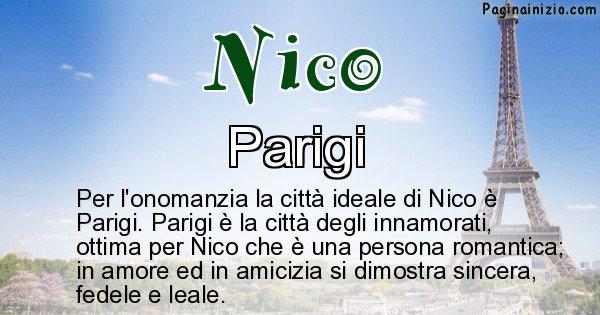 Nico - Città ideale per Nico
