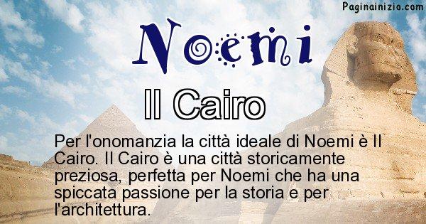 Noemi - Città ideale per Noemi