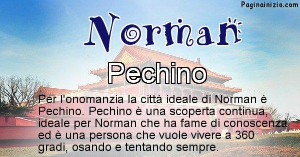 Norman - Città ideale per Norman