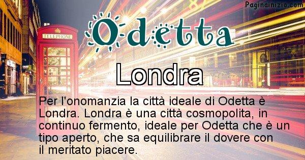Odetta - Città ideale per Odetta