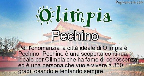 Olimpia - Città ideale per Olimpia