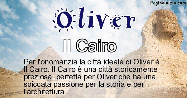 Oliver - Città ideale per Oliver